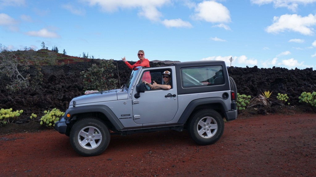Jeep Big Island, Hawaii