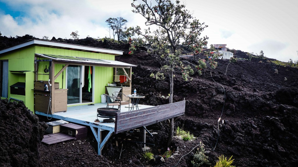 Air BnB Unterkunft Big Island, Hawaii