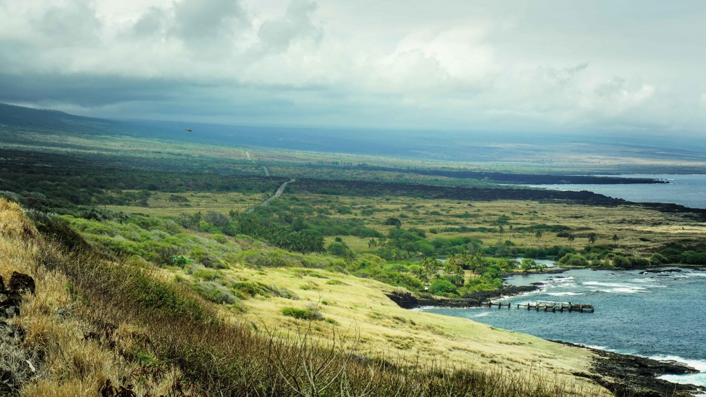 Big Island, South shore