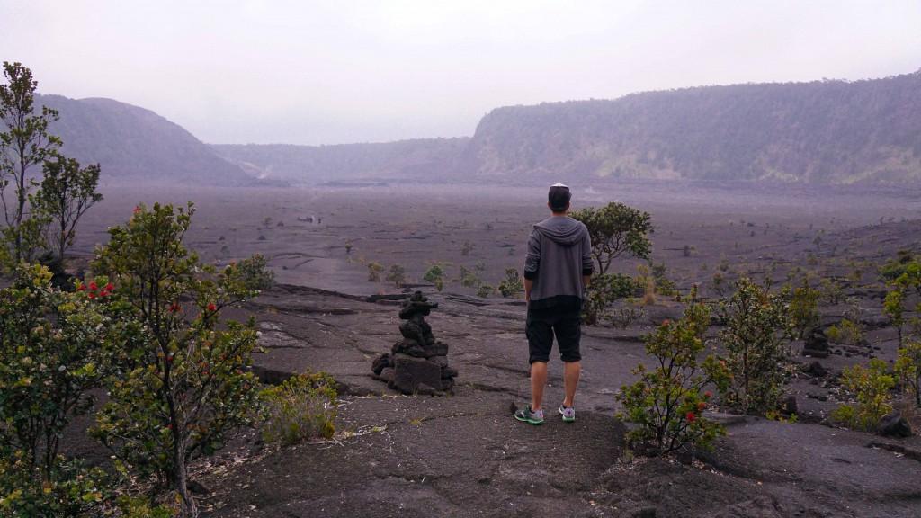 Im Kraterkessel, Kiaulea Iki Trail, Volcano National Park