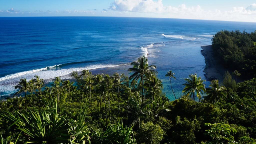 Napali coast, Kalalau Trail, Kauai