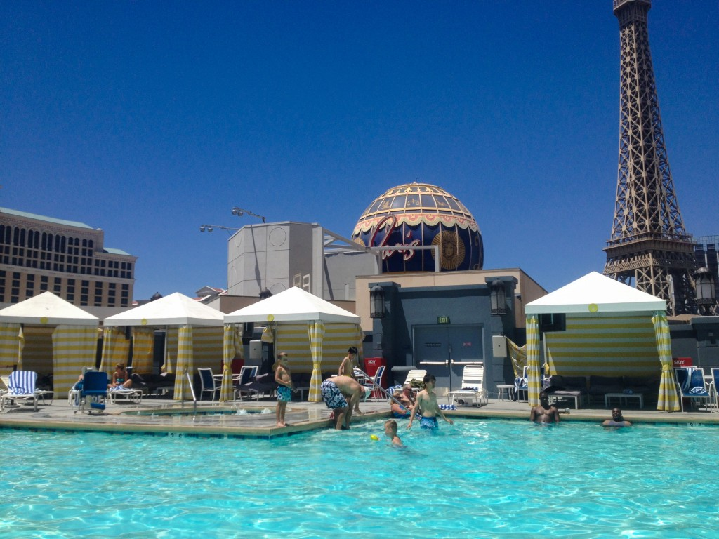 Planet Hollywood Pool, Las Vegas