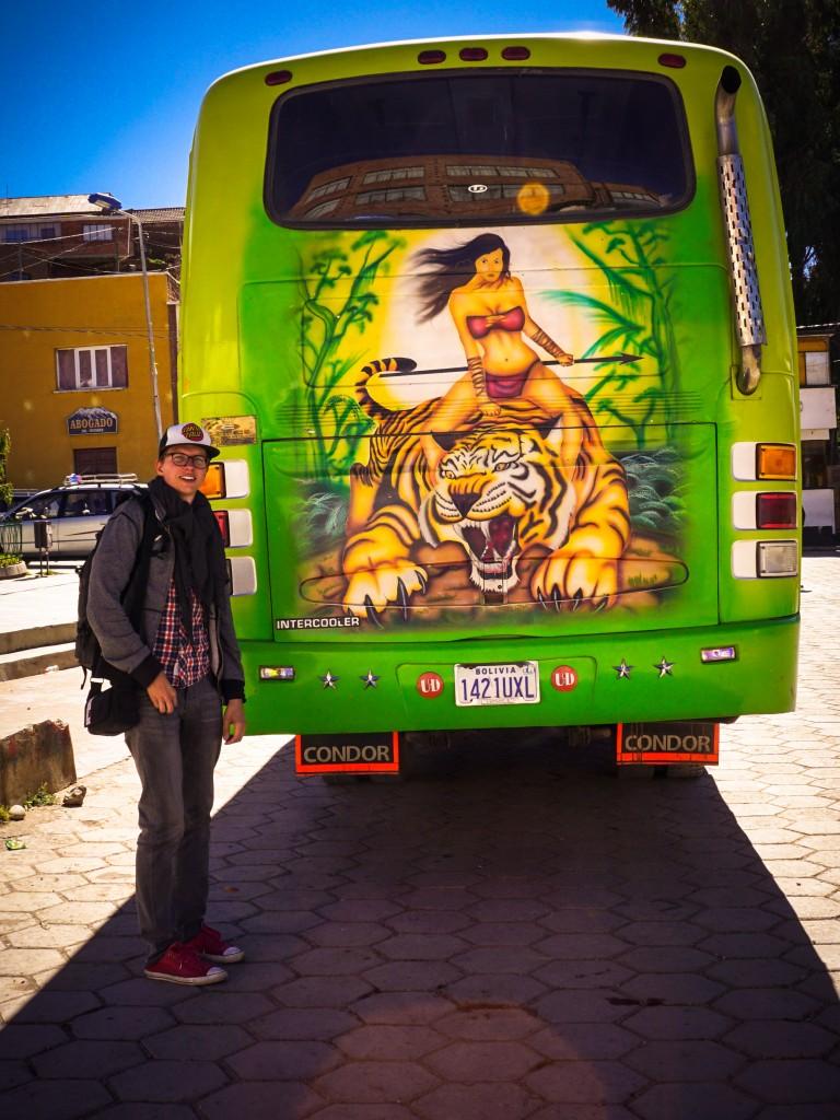 typischer Bus Bolivien