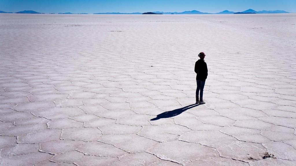 Salzwüste Salar de Uyuni