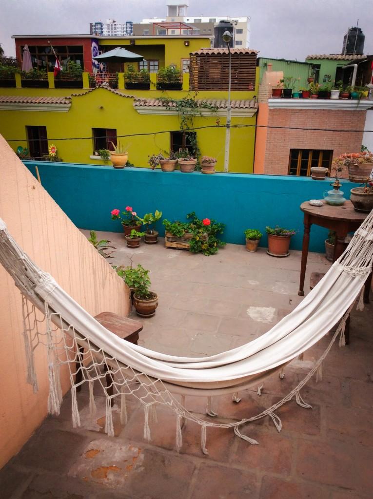 Lima Dachterrasse