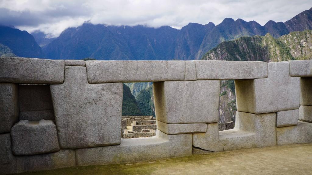 Steine Macchu Picchu