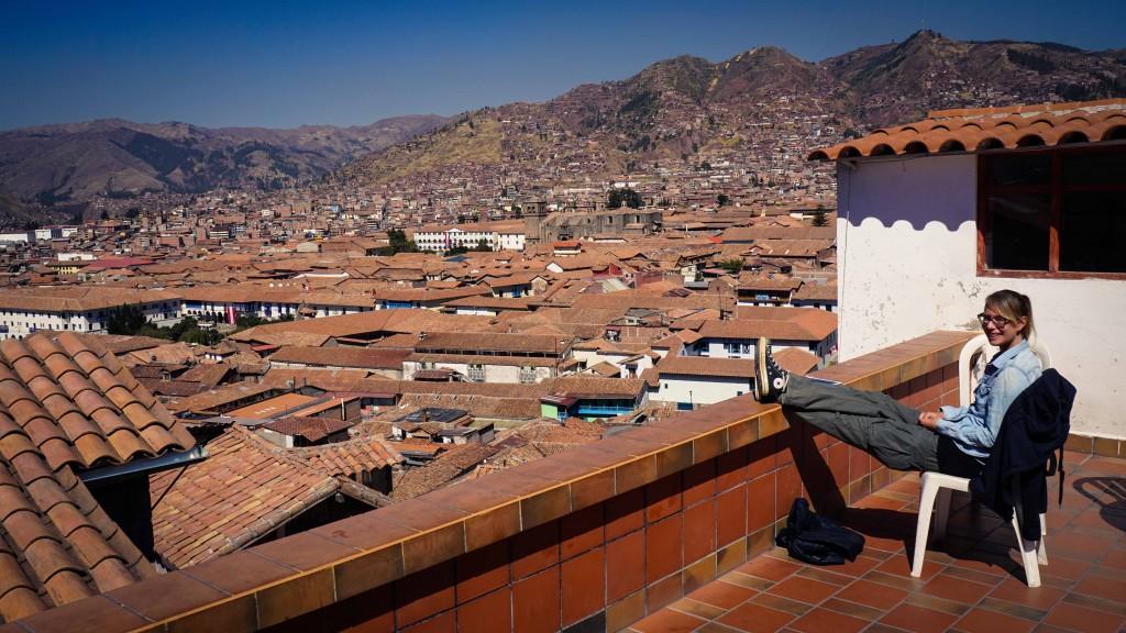Dachterrasse Cusco