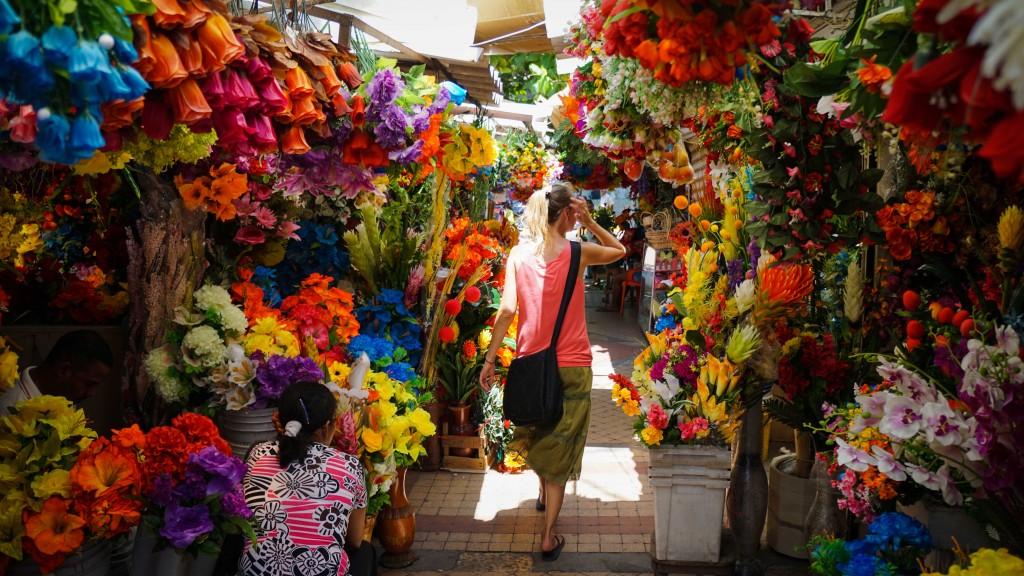 Cartagena, Blumenmarkt