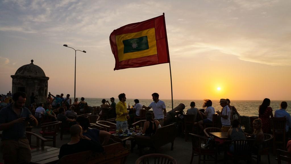 Cartagena, Café del Mar