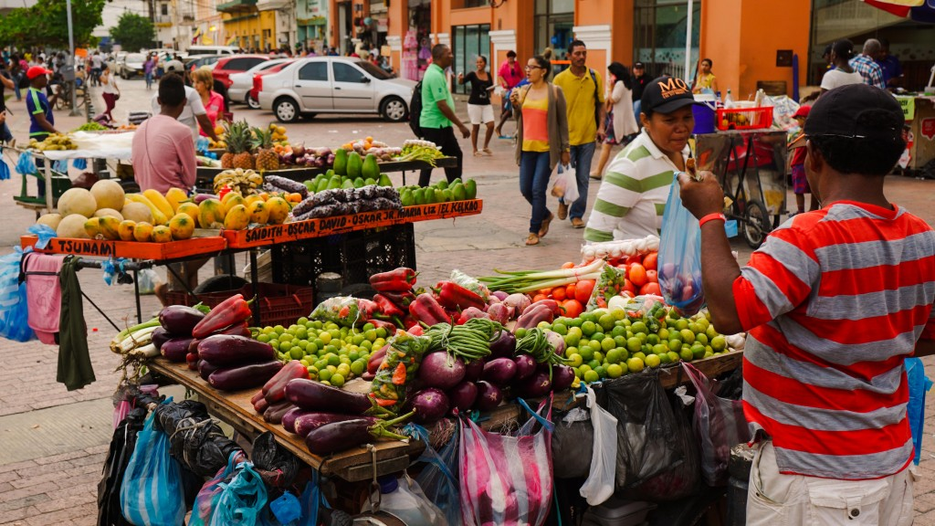 Cartagena, Gemüseverkäufer