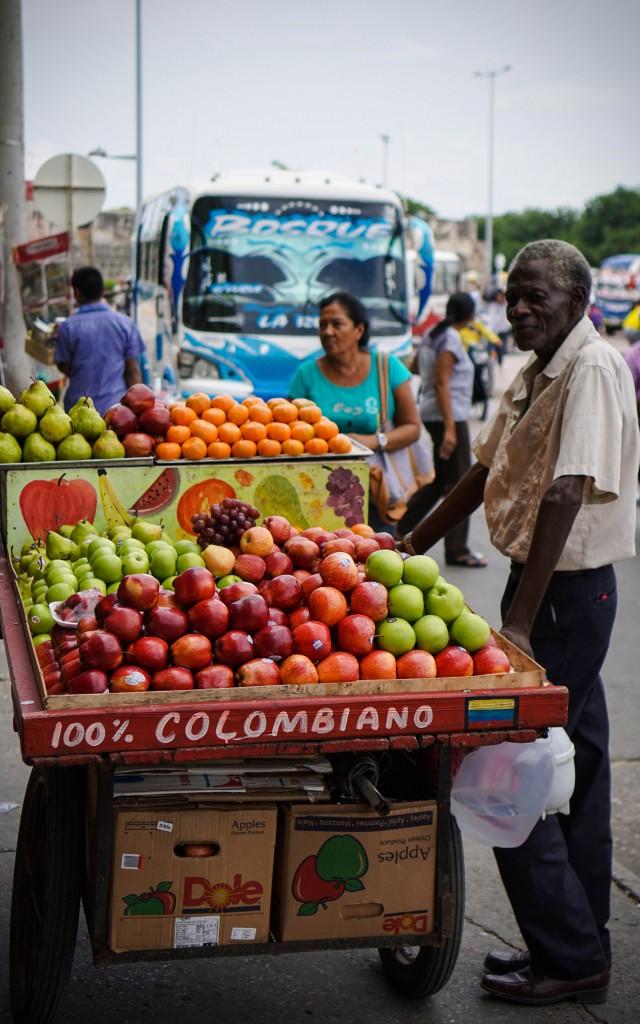Cartagena, Obstverkäufer