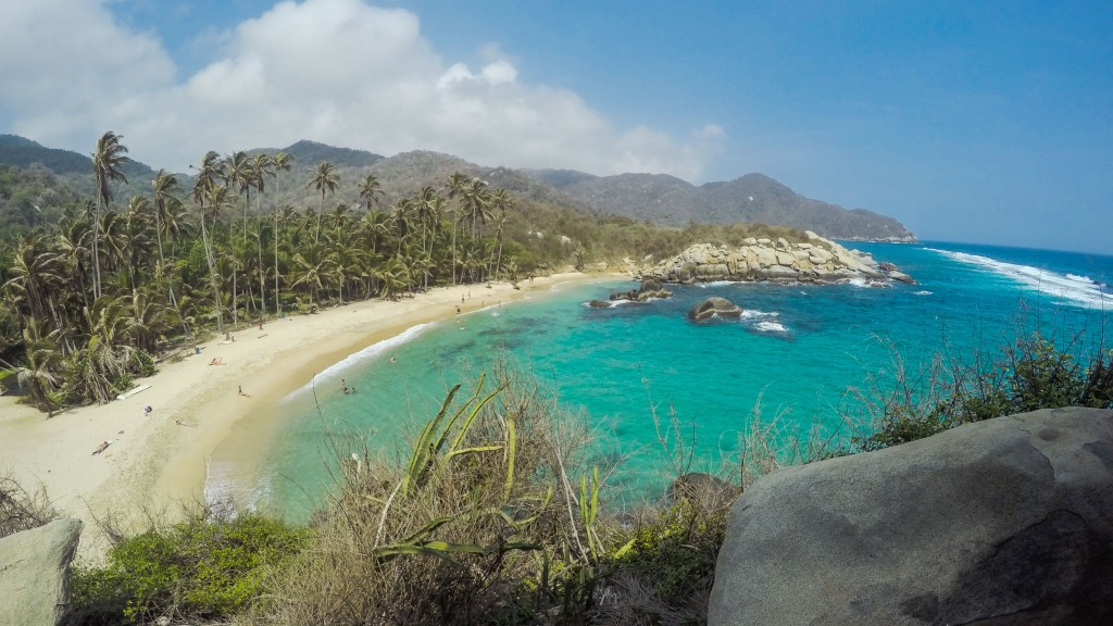 Tayrona Nationalpark, Strand