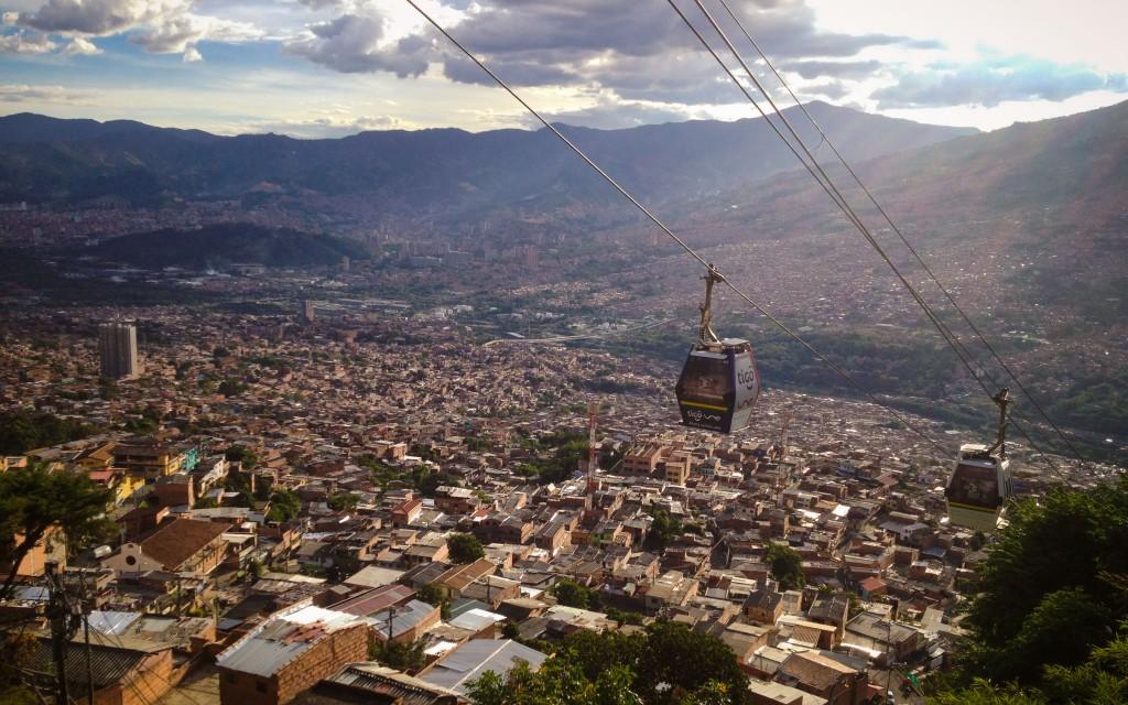 Medellin, Metrocable