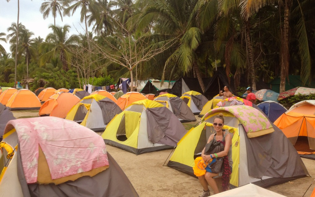 Tayrona Nationalpark, Camping