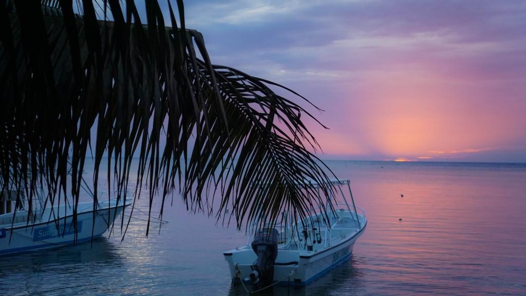 Roatan Sonnenuntergang