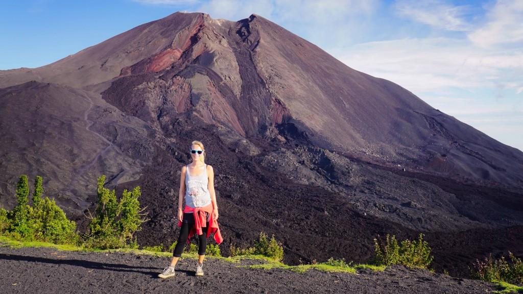 Guatemala, Vulkan Pacaya