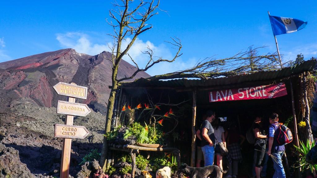 Pacaya, Vulkanshop