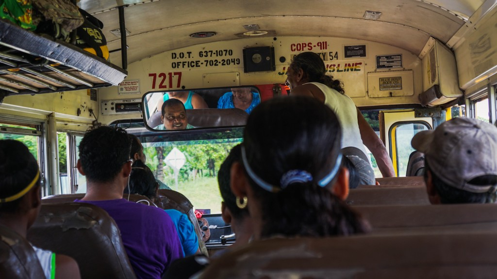 Belize, Local Bus