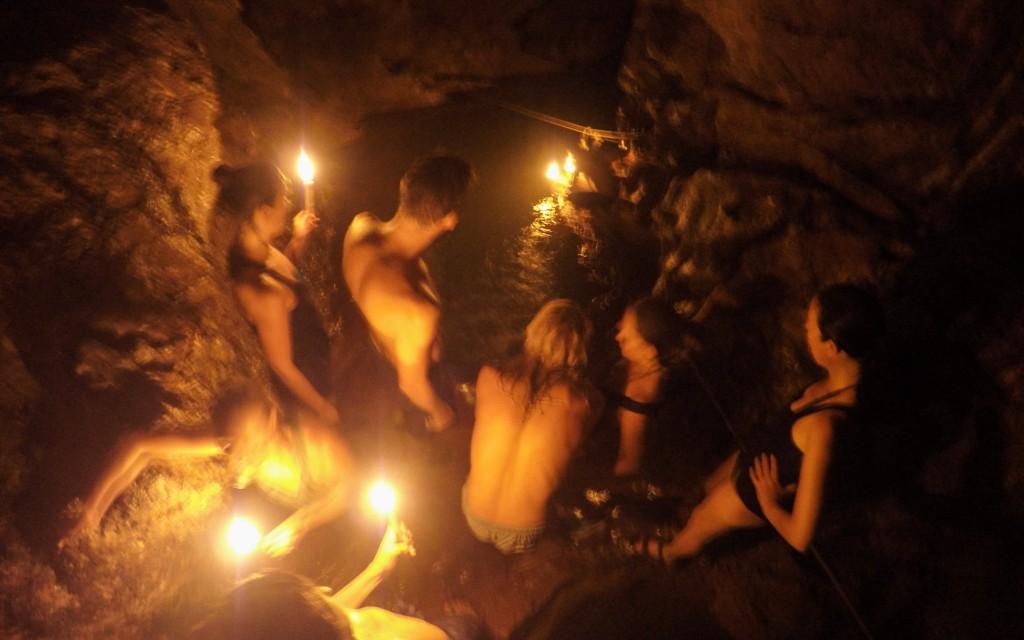 Semuc Champey, Höhlenwanderung