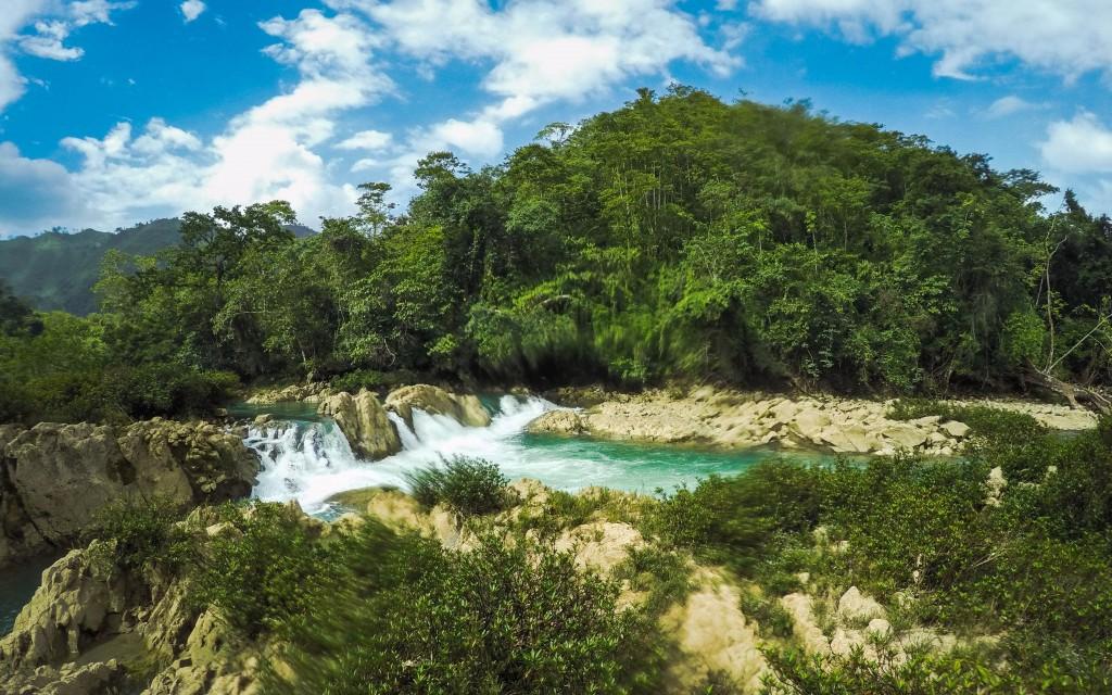 Semuc Champey, Wasserfall