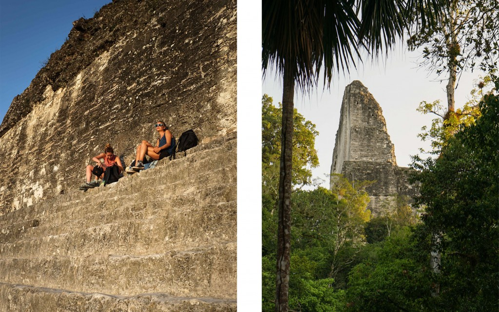 Tikal Sonnenaufgang