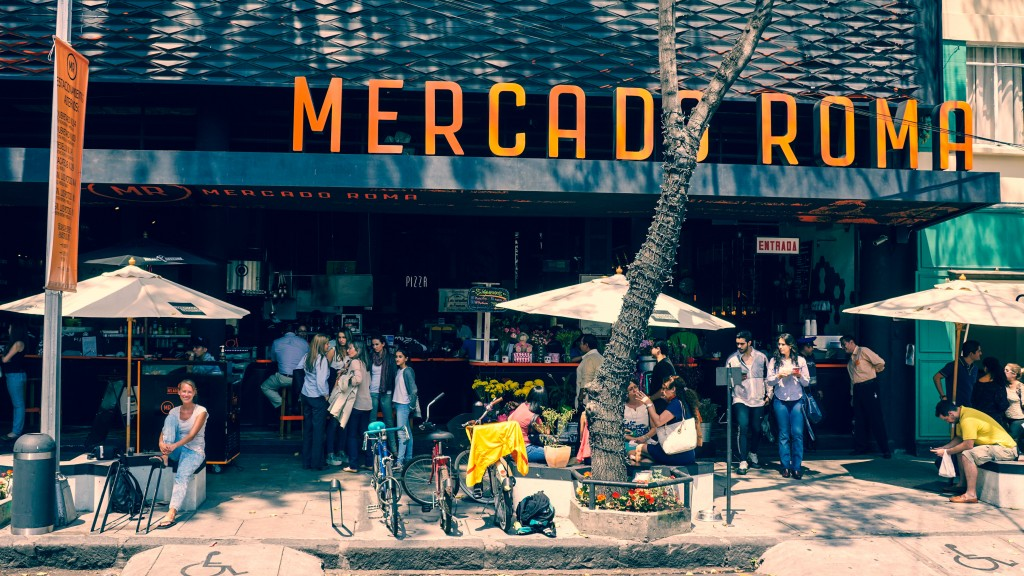 Mercado Roma, Mexico City