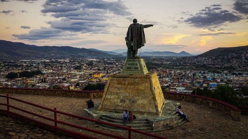 Oaxaca, Sonnenuntergang