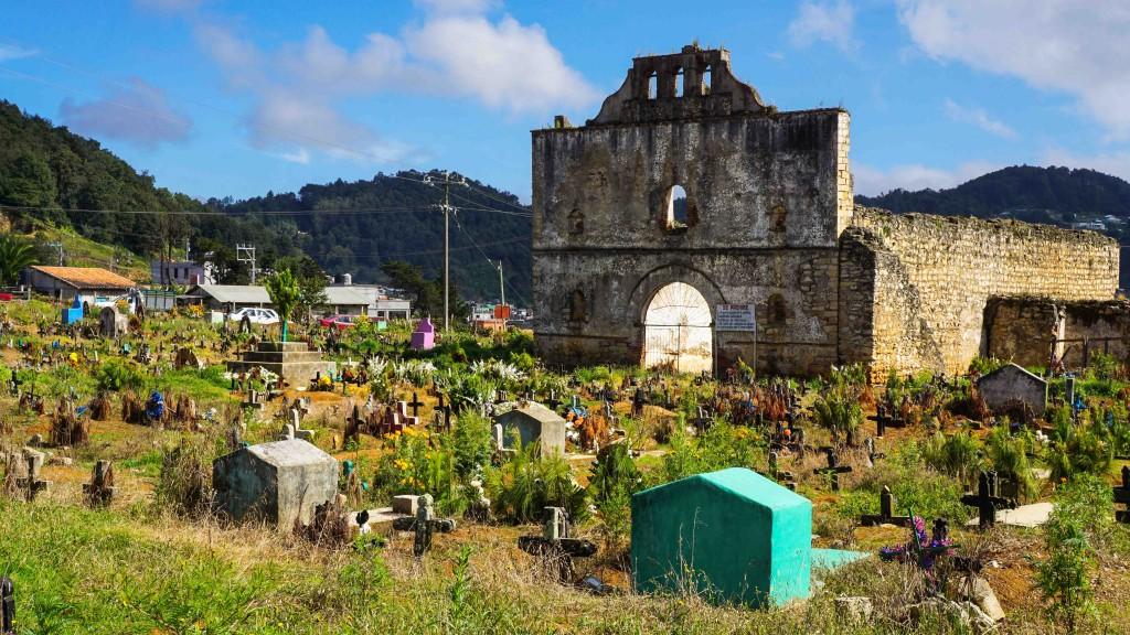 San Juan Chamula, Friedhof
