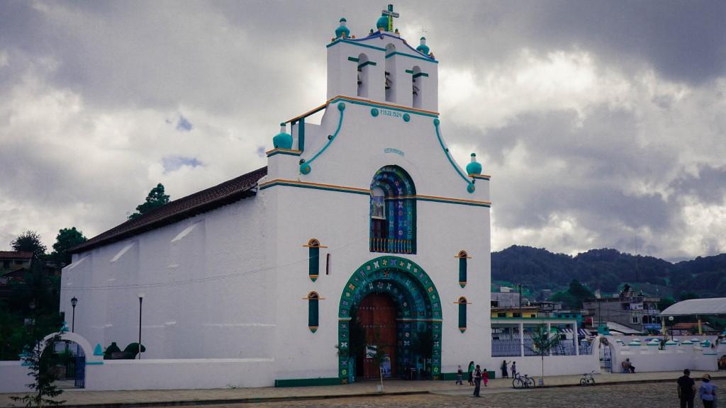 San Juan Chamula, Kirche