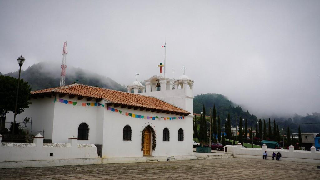 Zinacantan, Kirche