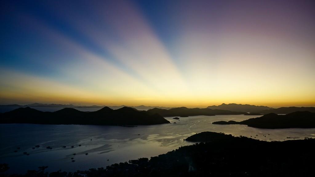 Coron, Sonnenuntergang