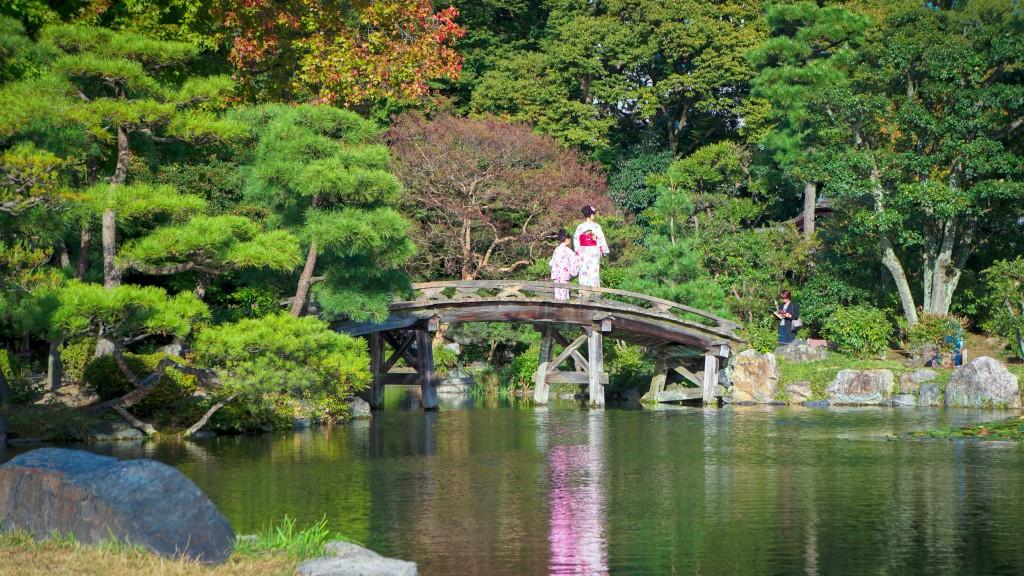 Garten, Kyoto
