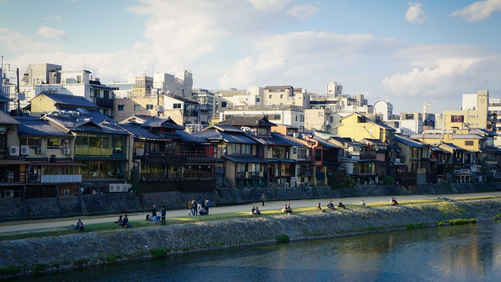 Kyoto, Fluss