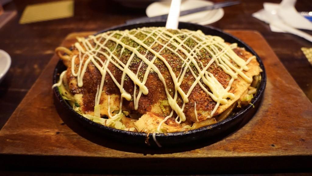 Okonomiyaki, Kyoto