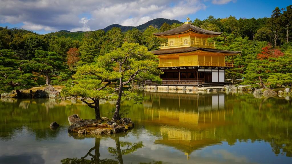 Kinkakuji Tempel, Kyoto