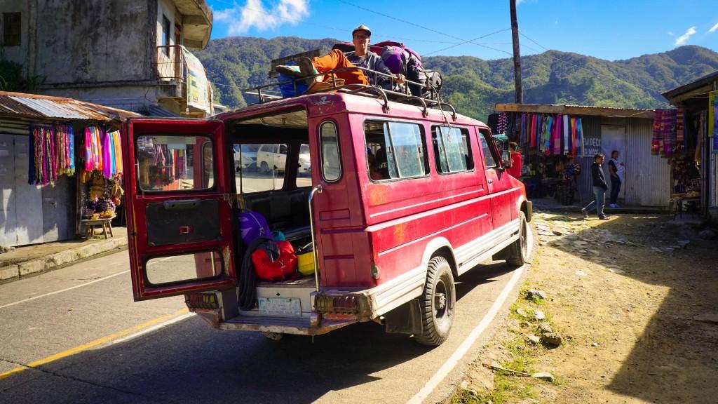 Banaue, Transport